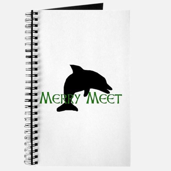 Merry Meet Spirit Dolphin Journal