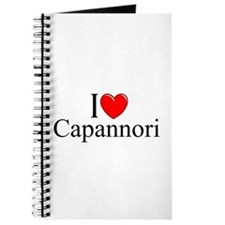 """I Love (Heart) Capannori"" Journal"