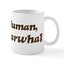 Half-Narwhal Mug