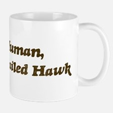 Half-Red-Tailed Hawk Mug