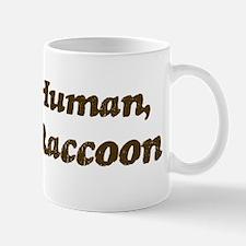 Half-Raccoon Mug