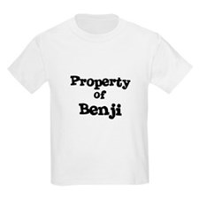 Property of Benji Kids T-Shirt