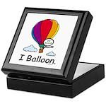 BusyBodies Hot Air Balloon Keepsake Box