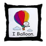 BusyBodies Hot Air Balloon Throw Pillow
