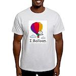 BusyBodies Hot Air Balloon Ash Grey T-Shirt