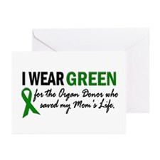 I Wear Green 2 (Mom's Life) Greeting Cards (Pk of