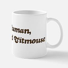 Half-Tufted Titmouse Mug