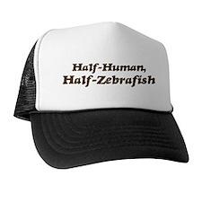 Half-Zebrafish Trucker Hat
