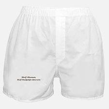 Half-Snakeskin Gourami Boxer Shorts