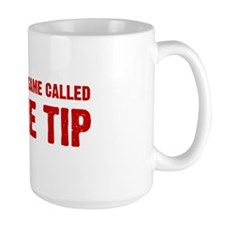 Just The Tip Game - Red Mug
