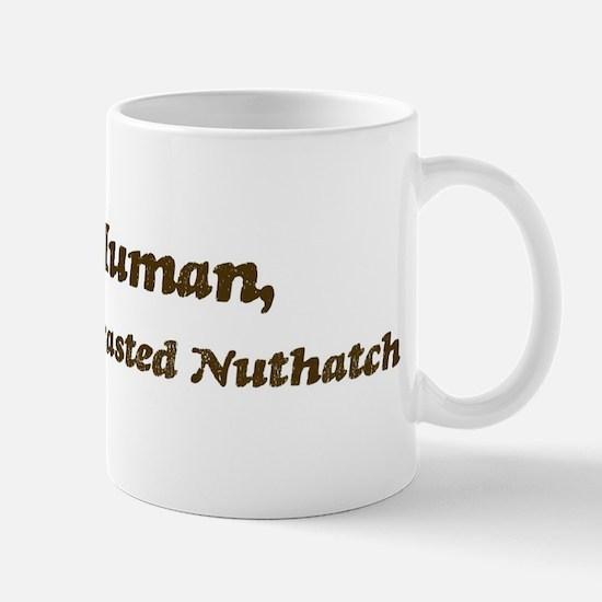 Half-White-Breasted Nuthatch Mug