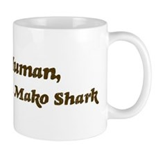 Half-Shortfin Mako Shark Mug