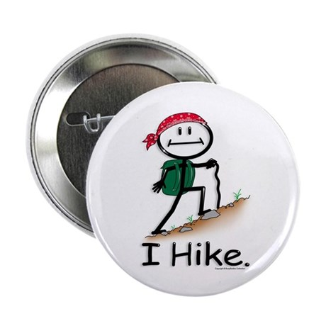 "BusyBodies Hiking 2.25"" Button (10 pack)"