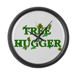 Tree Hugger Large Wall Clock