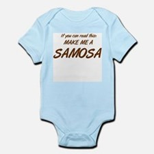 Make Me a Samosa. Infant Bodysuit