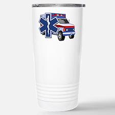 EMS Ambulance Stainless Steel Travel Mug