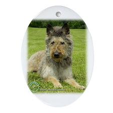 Belgian Shepherd (Laekenois) Oval Ornament
