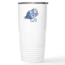 the cat's pajamas Travel Coffee Mug
