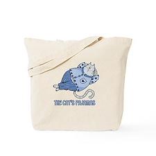 the cat's pajamas Tote Bag