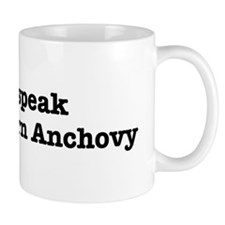 I speak Northern Anchovy Mug