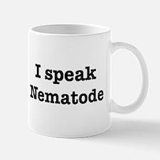 I speak Nematode Mug