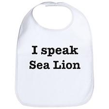 I speak Sea Lion Bib