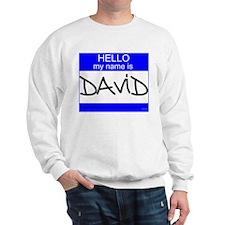"""David"" Sweatshirt"