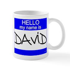 """David"" Mug"