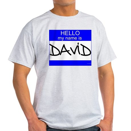 """David"" Light T-Shirt"