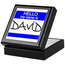 """""""David"""" Keepsake Box"""