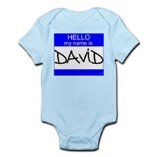 """David"" Infant Bodysuit"