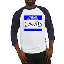 """David"" Baseball Jersey"