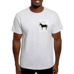 Nice Ass! Ash Grey T-Shirt