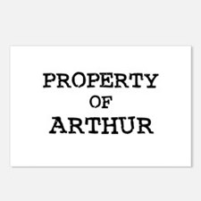 Property of Arthur Postcards (Package of 8)