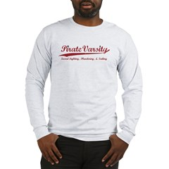 Pirate Varsity Long Sleeve T-Shirt