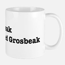 I speak Rose-Breasted Grosbea Mug