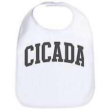 Cicada (curve-grey) Bib