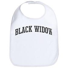 Black Widow (curve-grey) Bib