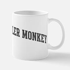 Black Howler Monkey (curve-gr Mug