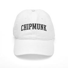 Chipmunk (curve-grey) Baseball Cap