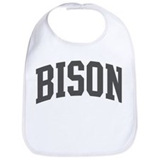 Bison (curve-grey) Bib