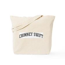 Chimney Swift (curve-grey) Tote Bag