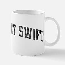 Chimney Swift (curve-grey) Mug