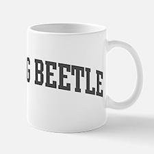 Dung Beetle (curve-grey) Mug