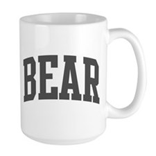 Bear (curve-grey) Mug