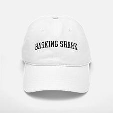 Basking Shark (curve-grey) Baseball Baseball Cap