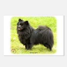 German Spitz 9W014D-009 Postcards (Package of 8)