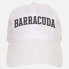 Barracuda (curve-grey) Baseball Baseball Cap