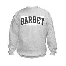 Barbet (curve-grey) Sweatshirt