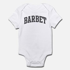 Barbet (curve-grey) Infant Bodysuit